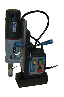 BLUEROCK ® Tools Model BRM-60A-B Magnetic Drill Press - Mag Drill Typhoon