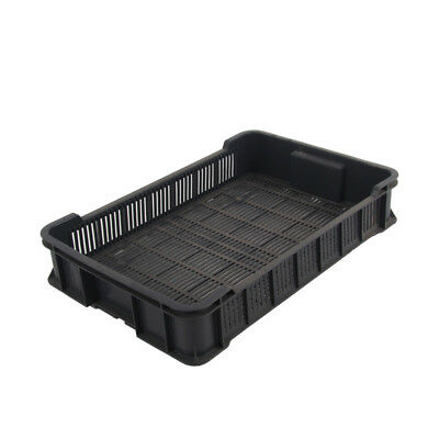 Plastic Produce Crate 10 kg Vegetable Box Produce Crate Stackable Storage Box