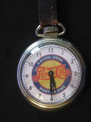 PEPSI COLA - Pocket Watch – Working – WITH FOB