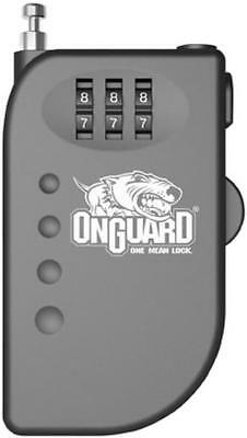 On Guard Locks Terrier Roller Cable Combination Lock Motorcycle Security/Lock