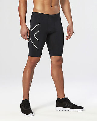 2XU - Compression Short (MA1931b-BLK/BLK) Size M - 50% Off