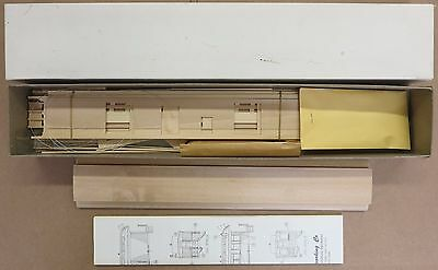 La Belle Open Platform Duluth & Iron Range Baggage Passenger Car Kit O-Scale NOS