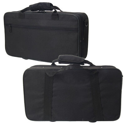 New High Quality Oxford Cloth Hard Shell Bb Clarinet Case Durable Handle