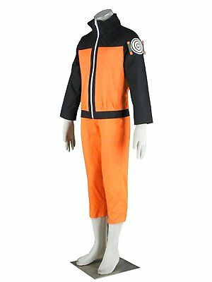 Dazcos Mens and Kids Costume for Uzumaki Cosplay Costume Child M