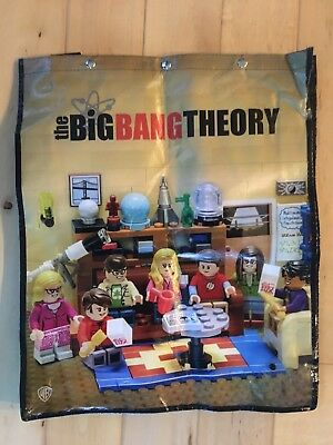 SDCC Comic Con 2017 Exclusive Big Bang Theory WB Promo Swag Bag Backpack Lego