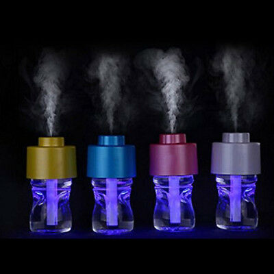 USB Portable Mini Water Bottle Humidifier Air Cap Diffuse Mist and Purify CF2