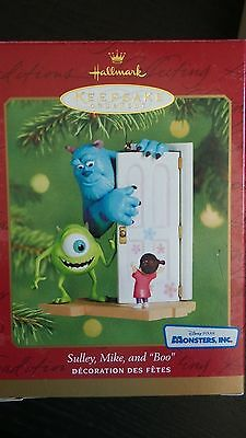 Hallmark 2001 Sulley Mike And Boo Monsters Inc Disney Pixar