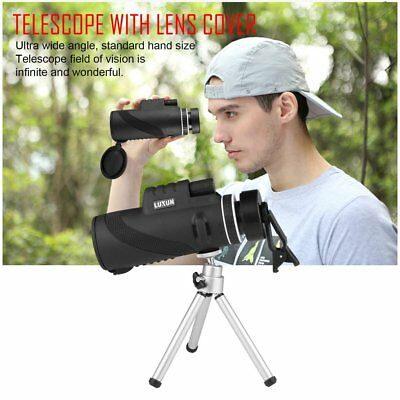 Outdoor Day&Night Vision 40X60 HD Optical Monocular Hunting Hiking Telescope MU