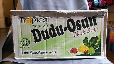 48X Dudu Osun Tropical Natural Black Soap 150g (A box of 48 pieces)