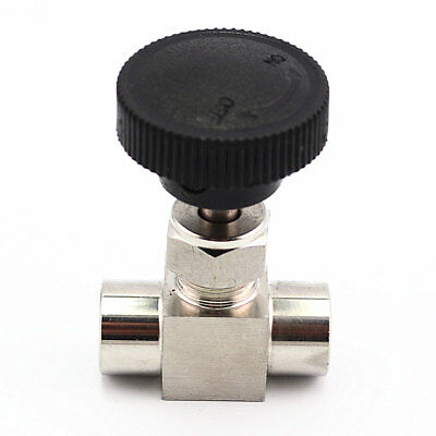Needle Valve 1/8'' Female Thread BSP Stainless Steel 304 For Water Gas Oil