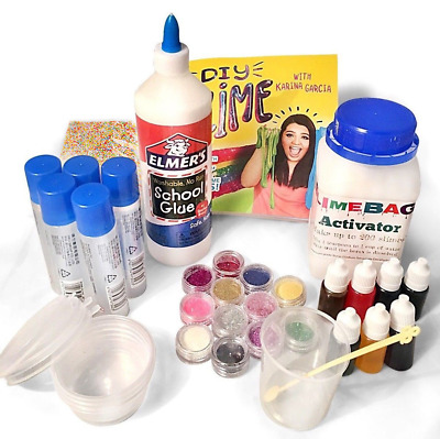 Make your own slime kit gloop sensory diy play for kids toy science slimebags how to make slime making kit large slime activator ccuart Images