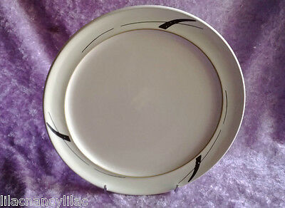 "NEW DENBY ""OYSTER STRANDS"" WIDE RIMMED TEA PLATE 20.5cm (GRADE 2 WITH FLAWS)"