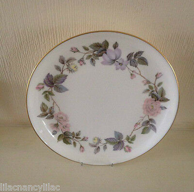 ROYAL WORCESTER \ JUNE GARLAND\  COUPE CAKE PLATE ... & JUNE GARLAND Boxed Royal Worcester Cake Plate and Knife - £10.50 ...