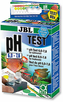 JBL PH 6,0 - 7,6 ENSEMBLE DE TEST / l'eau / eau douce / 80 MESURES / NEUF