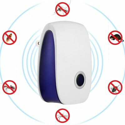 Ultrasonic Pest Reject Electronic Magnetic Repeller Mosquito Insect Killer LN
