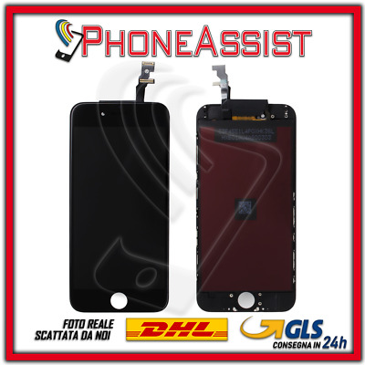 DISPLAY LCD VETRO TOUCH Apple iPhone 6 SCHERMO ORIGINALE TIANMA Nero