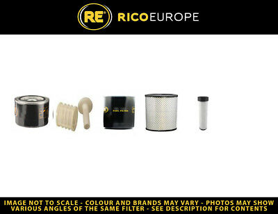 Volvo ECR58 Filter Service Kit - Air, Oil, Fuel Filters