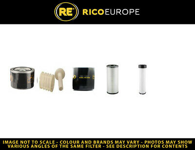Volvo ECR88 Filter Service Kit S/N 10750> - Air, Oil, Fuel Filters