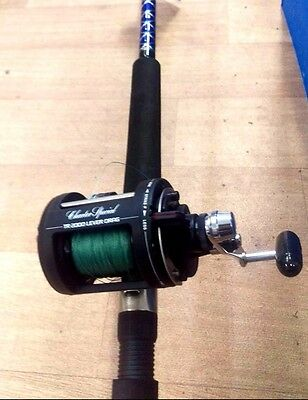 "Shimano TR2000LD Charter Special Combo 6-10Kg 7'0"" Taipan Pro w/ 30lb Braid New"