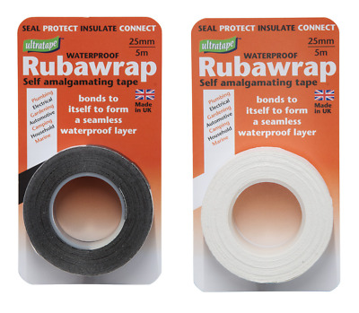 Ultratape Rubawrap Self Amalgamating Pipe Leak Repair Tape / Rubber Weld Tape