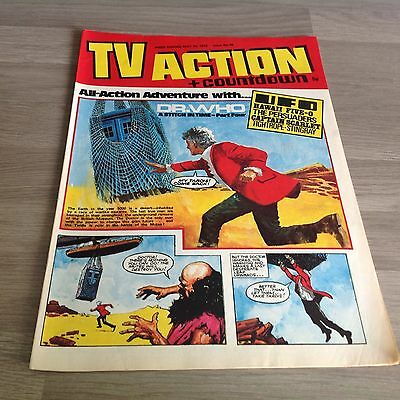TV ACTION + COUNTDOWN - Vintage Paper Comic - Issue No.66 -MAY 20,1972 - DR. WHO