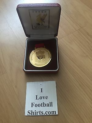 Liverpool FC LFC Official Commemorative 2005 Champions League Medal Istanbul
