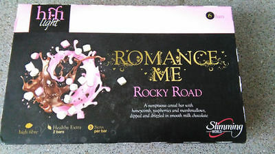 Box Of 6 Hi Fi Light Bars Rocky Road Slimming World Chocolate Cereal Bars