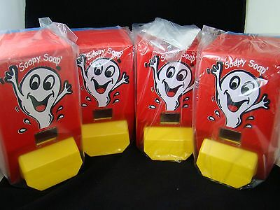 LOT OF 4 - Soapy Soap Dispenser - 1 Liter - commercial school daycare
