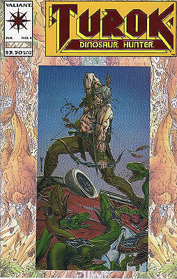 July 1993 Vol 1 No 1 Valiant Comic Turok Dinosaur Hunter