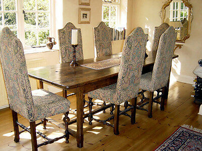 Circa 1800 French Antique Elm Refectory Table