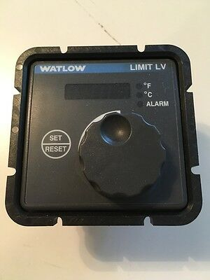 WATLOW Limit LV Temperature Limit Control LVG1LU00000200A 24VAC