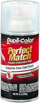NEW 8 Oz Quick Dry Automotive Top Coat Clear Acrylic Lacquer Aerosol Spray Paint