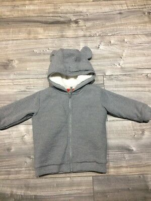 Marks And Spencer's Baby Boy 6-9 Months Fleece Jacket