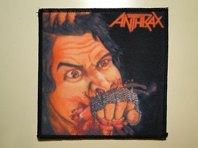 ANTHRAX Fistful Of Metal printed NEW patch thrash metal