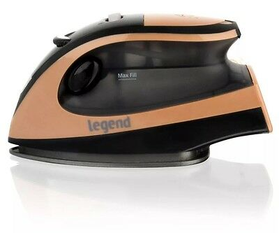 800W Travel Iron Steam Compact Portable Gold Mini Lightweight Smart 8 Functions
