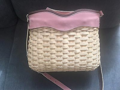 Longaberger Sisters Everyday Basket Handbag - NEW IN BOX with Protective Bag
