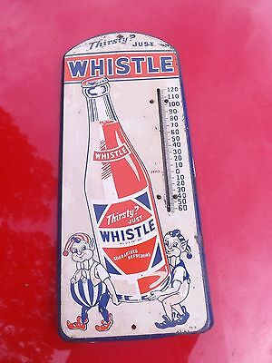Very Rare Whistle Soda Thermometer