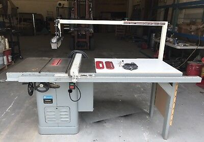 """Rockwell 10"""" Unisaw Table Saw w/ Beisemeyer Fence & Guard System"""