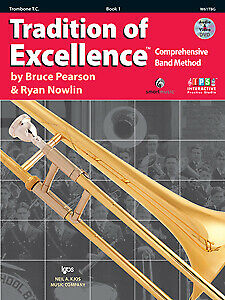 Tradition of Excellence Book 1 Trombone T.C. NEW