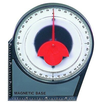 Brand New, Accurate to 0.5° Dial Gauge Angle Finder,  Magnetic Base