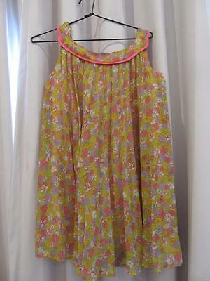 Vintage RARE 60s Psychdelic 8, 10, 12 year old Girls Party Dress P/U W Footscray