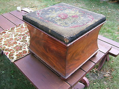 Vintage Storage Chest -Footrest Project