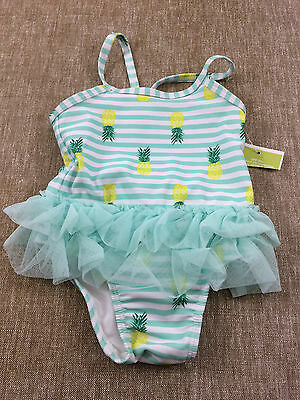 infant baby girls CIRCO one piece swim suit NEW size 6-9 months NWT pineapples