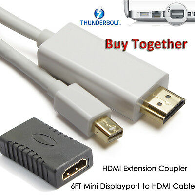 Full 4K×2K MDP to HDMI Converter+HDMI Cable For Microsoft Surface Pro 2 3 4 Book