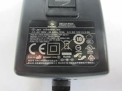 V-Infinity Power Supply Adapter EMSA120300K-P6P-SZ-C1 Output 12V Input 100-240V