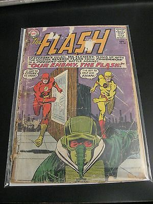 FLASH #147 Silver Age Reverse Flash Key! (G-) Holding Together Nicely!