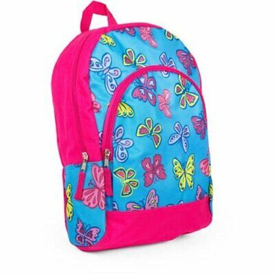 "15"" Child's BACKPACK 2-Pocket Girls/Boys School Book Bag Toddler Preschool Kids"