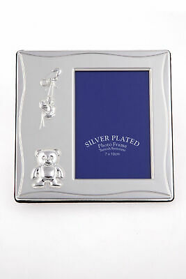 Bulk 10 Baby Frames/Favours, Quality Silver Plated Chistening Arrival Keepsake