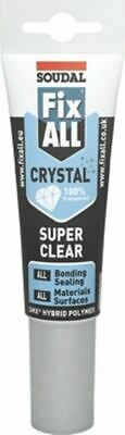SOUDAL FixAll Crystal Bonding Sealing for All Materials Surfaces 80ml