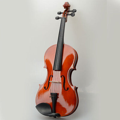 """High Quality Basswood 15"""" Adults Acoustic  Viola with Case Bow,Rosin UK"""